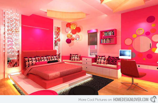 Pretty Bedrooms For Girls