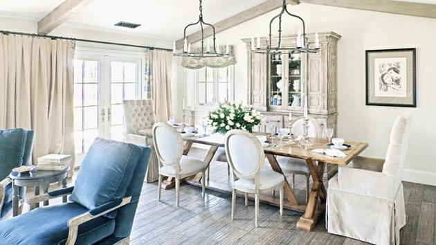 pretty dining rooms photo - 2