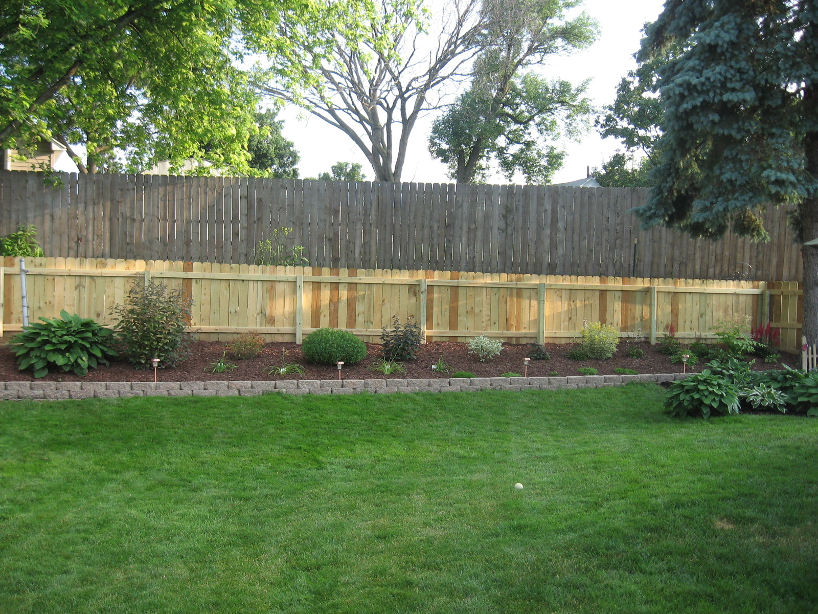 Privacy fence ideas for backyard large and beautiful for Small backyard privacy ideas