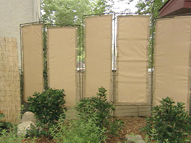 privacy screen ideas for backyard photo - 1