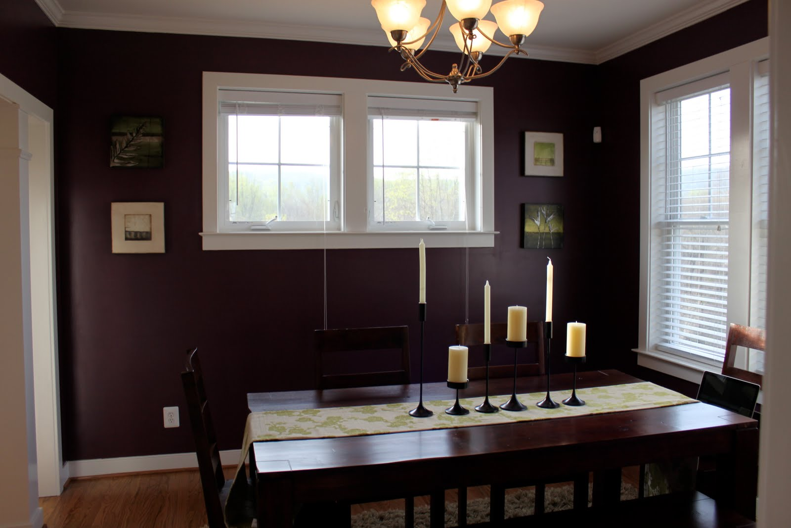 Purple Dining Room Photo   1