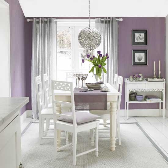 purple dining room ideas photo - 1
