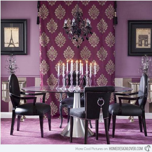 purple dining room ideas photo - 2