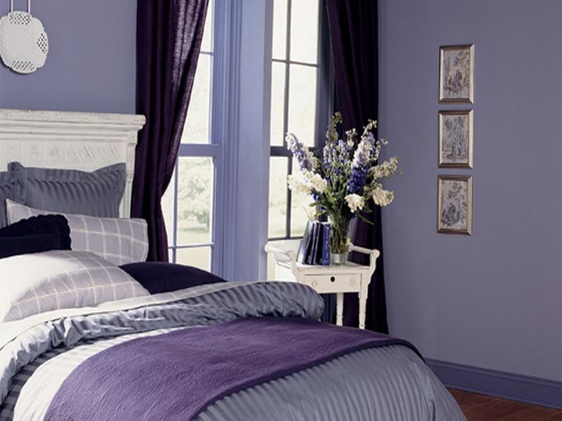 Elegant Purple Paint Colors For Bedrooms Great Ideas