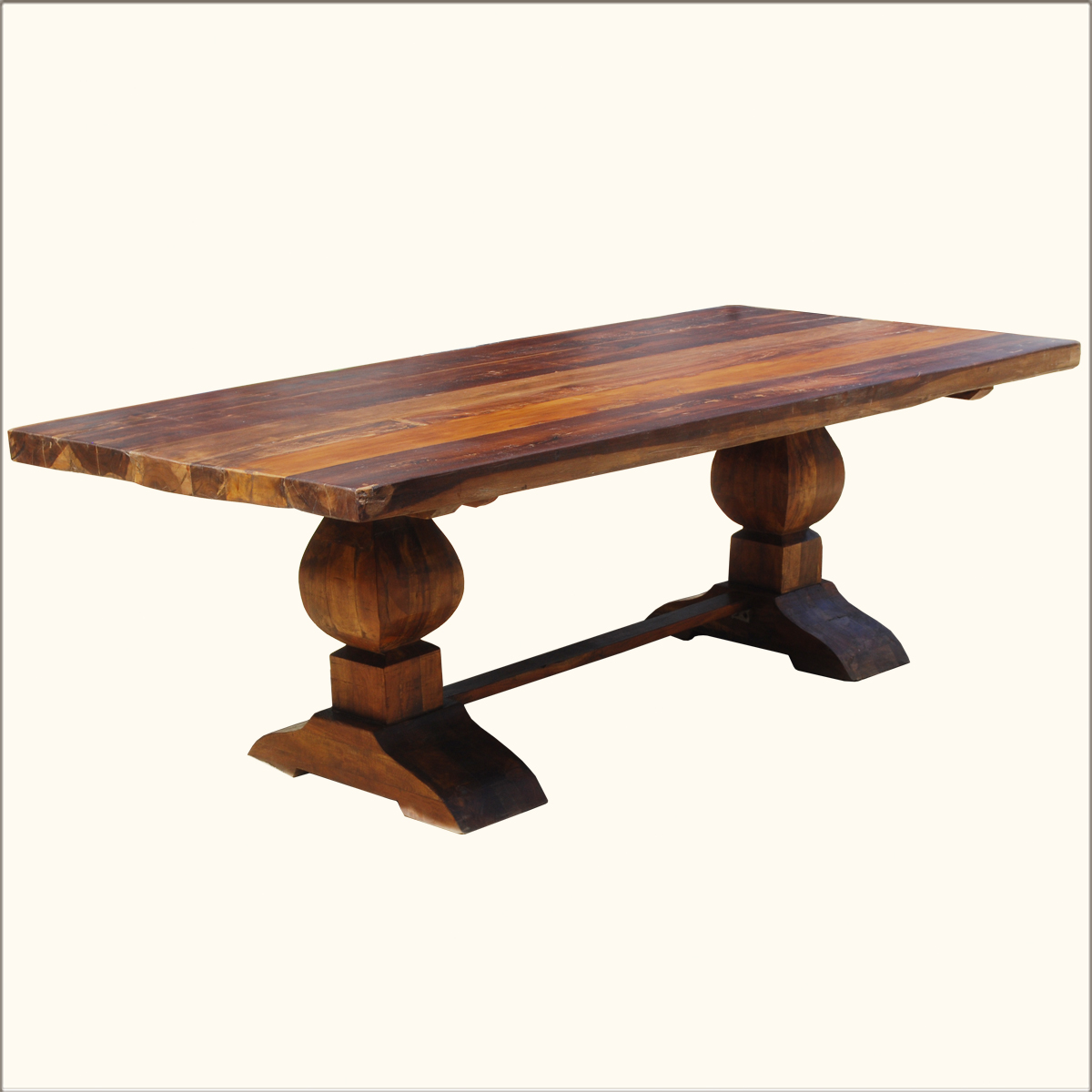 Reclaimed wood dining room table large and beautiful for Dining room table 2