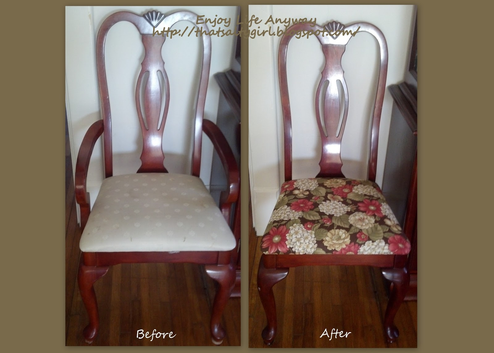 recover dining room chairs photo - 2