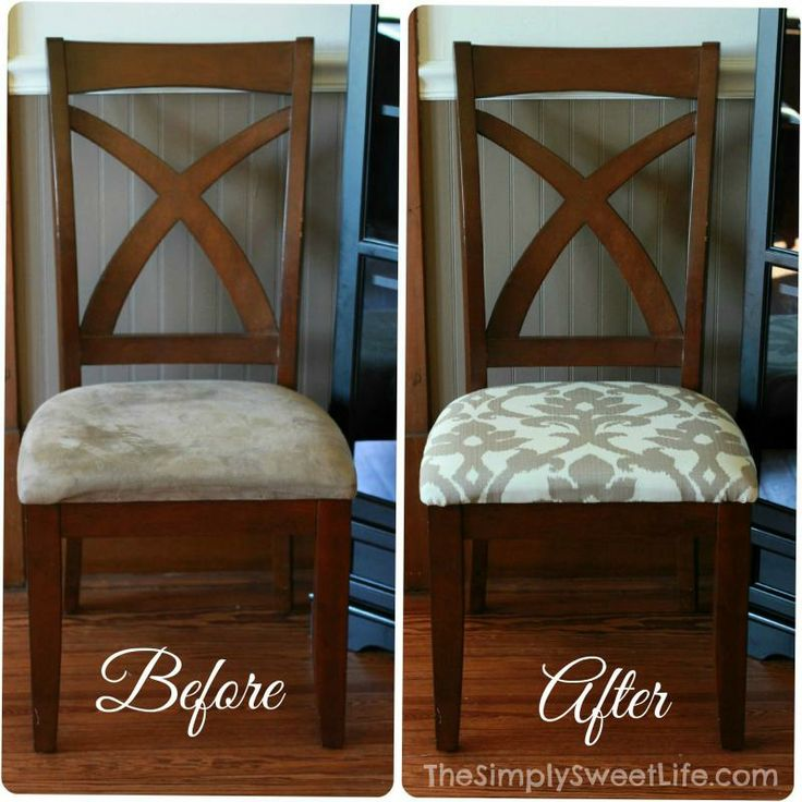 Recovering Dining Room Chairs - Large And Beautiful Photos. Photo