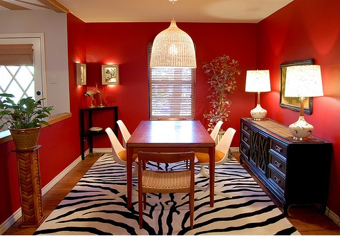 Marvelous Red Dining Room Ideas