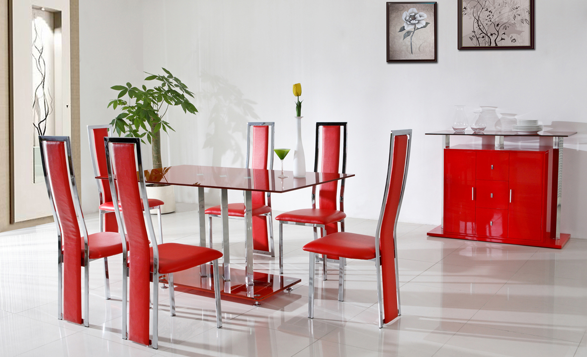 red dining room ideas photo - 2