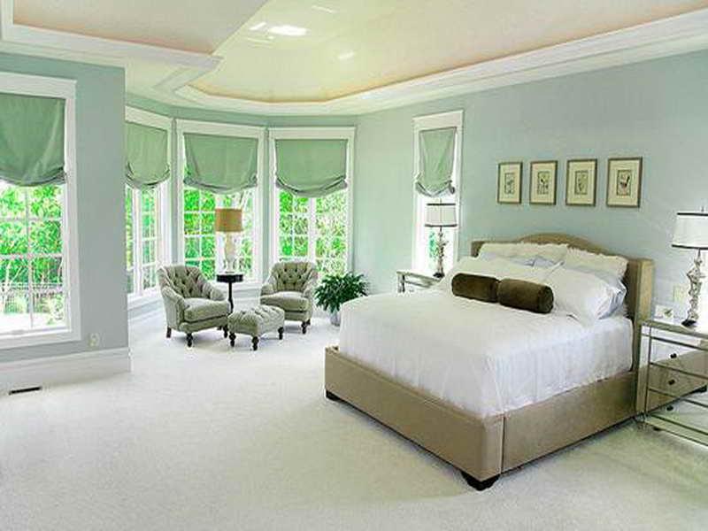 relaxing bedroom color schemes photo - 2