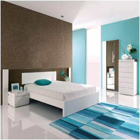relaxing colors for bedroom photo - 2