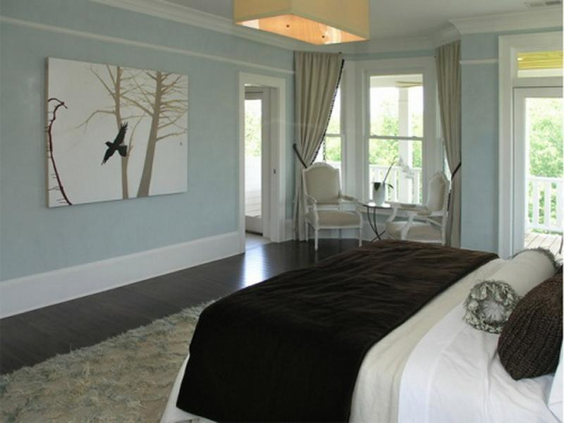 relaxing colors for bedrooms photo - 2