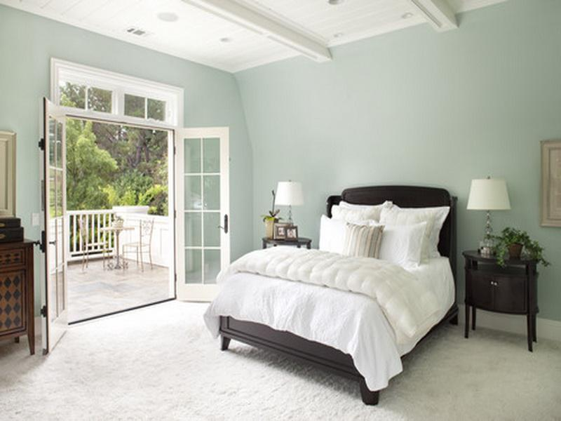 relaxing paint colors for bedroom photo - 2
