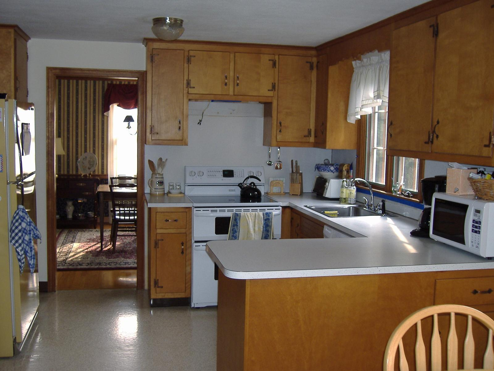 remodeling a small kitchen photo - 1