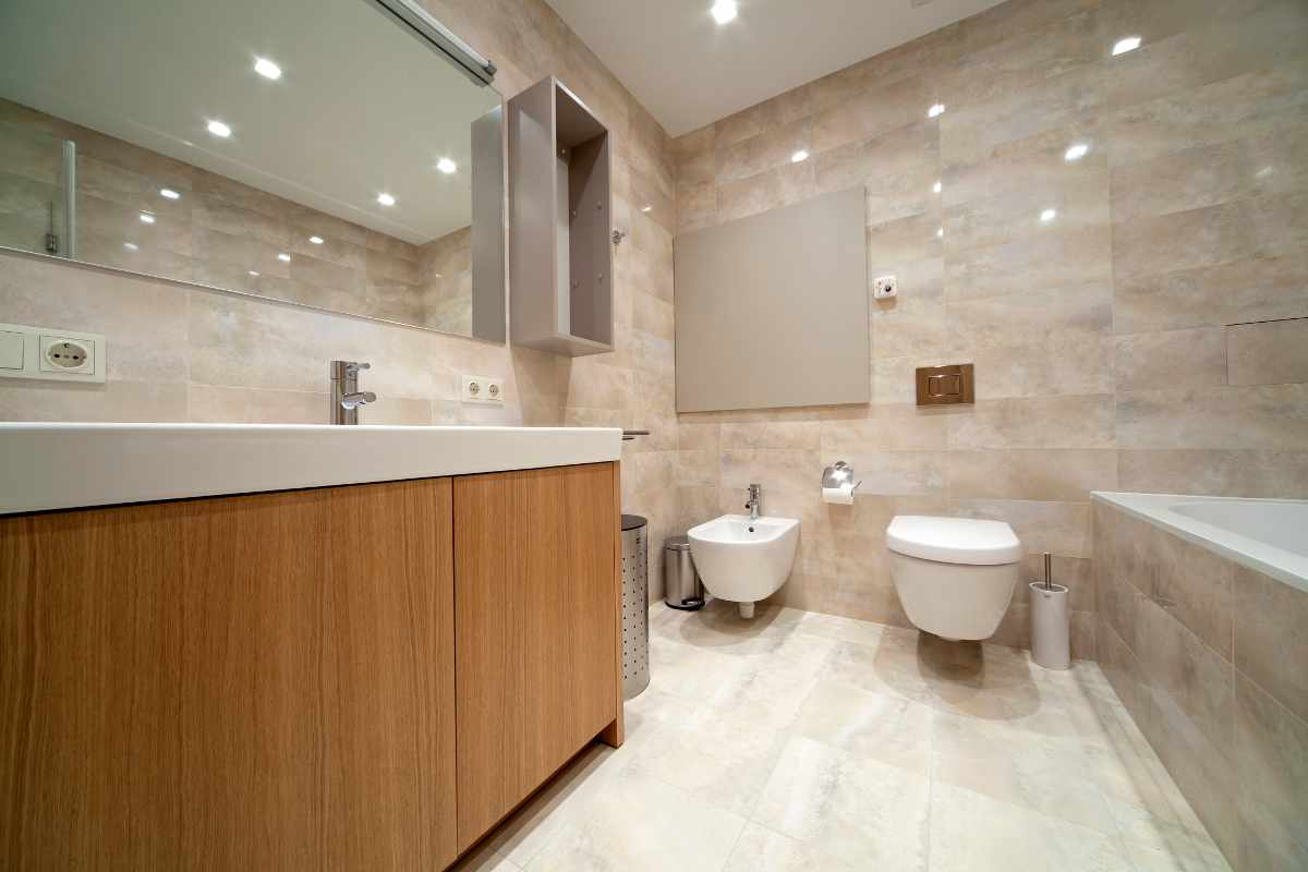 remodeling bathroom on a budget photo - 1