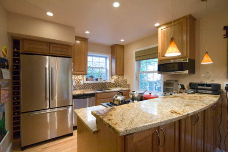 renovation ideas for small kitchens photo - 1