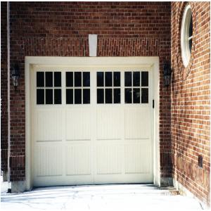 replace a garage door photo - 1