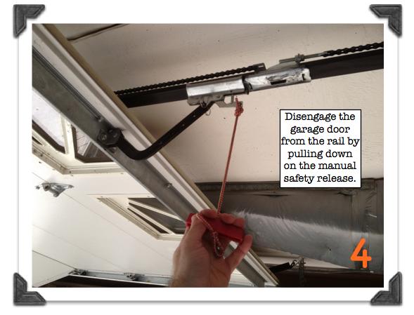 replace garage door rollers photo - 1