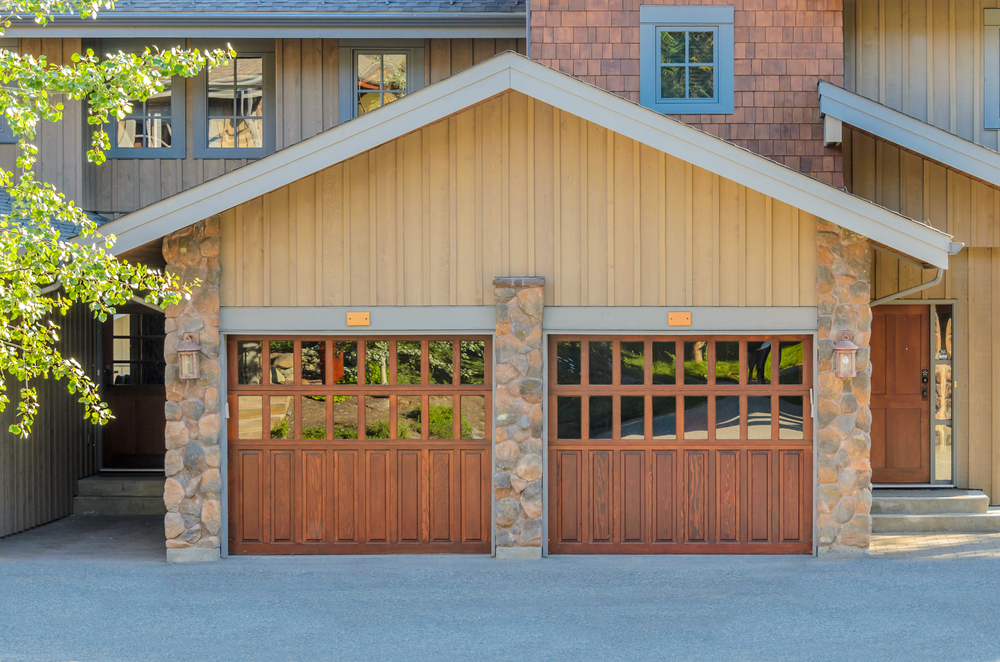 Replace garage door with french doors large and for Can you put screen doors on french doors