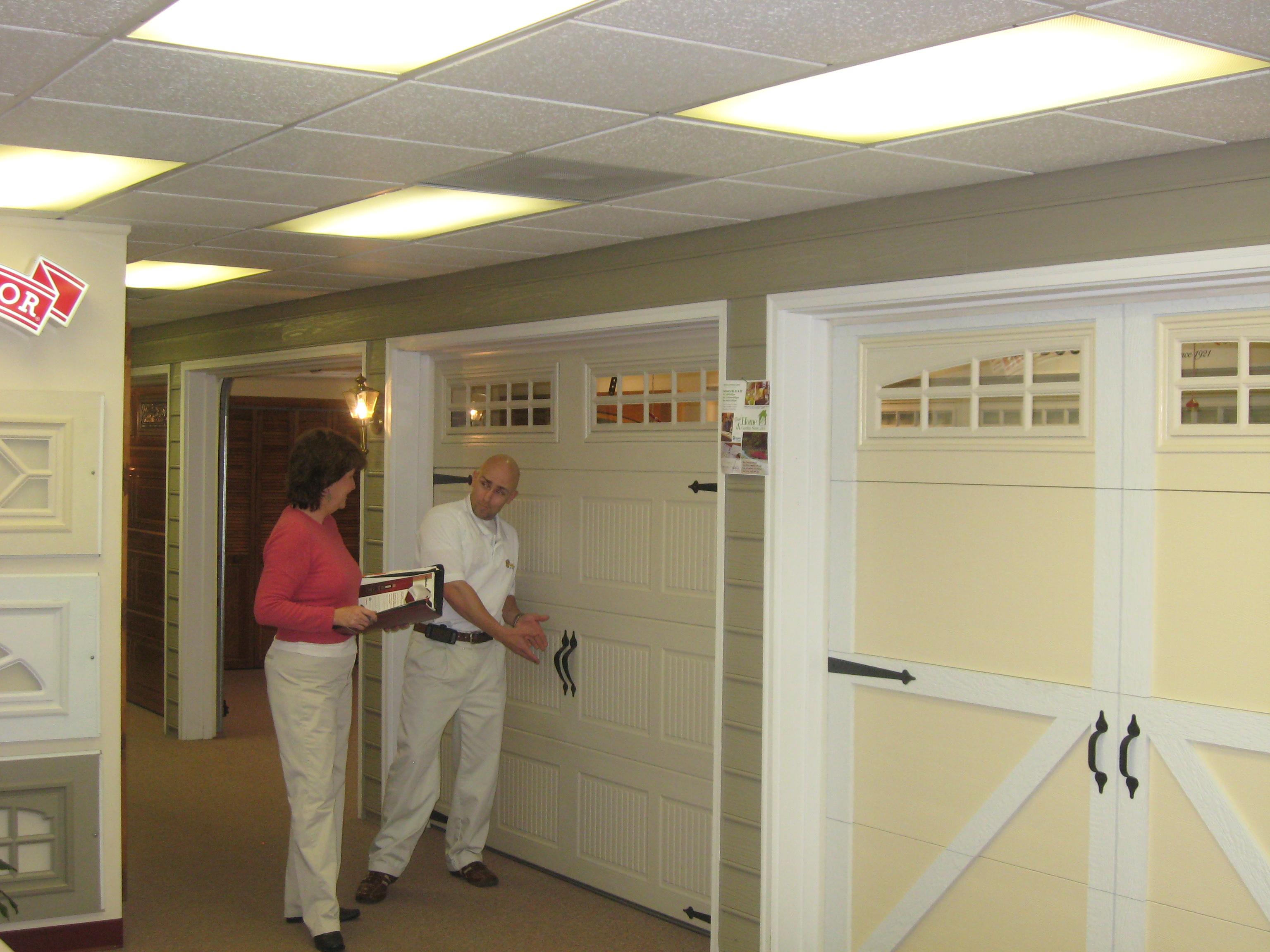 replacement garage door panels photo - 2