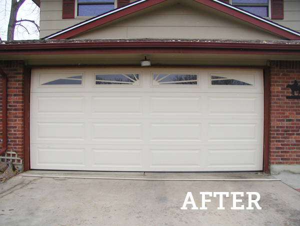 replacing garage doors photo - 1