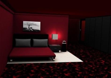 romantic bedroom color schemes photo - 2