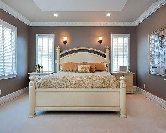 romantic bedroom colors photo - 2