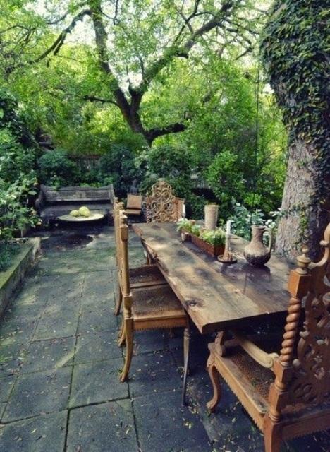 rustic backyard ideas photo - 1
