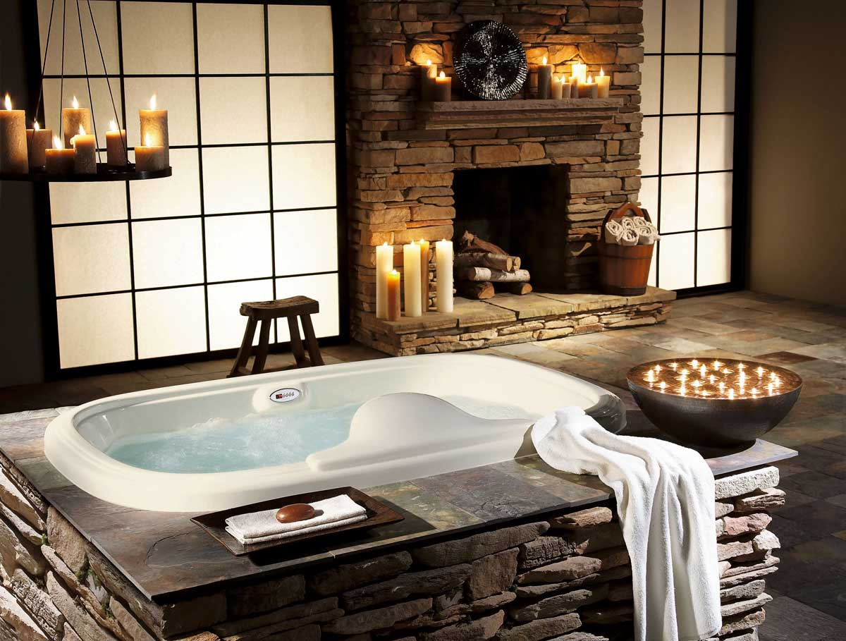 rustic bathroom ideas photo - 1