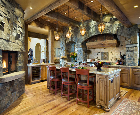 Rustic Dining Room Ideas - Large And Beautiful Photos. Photo To