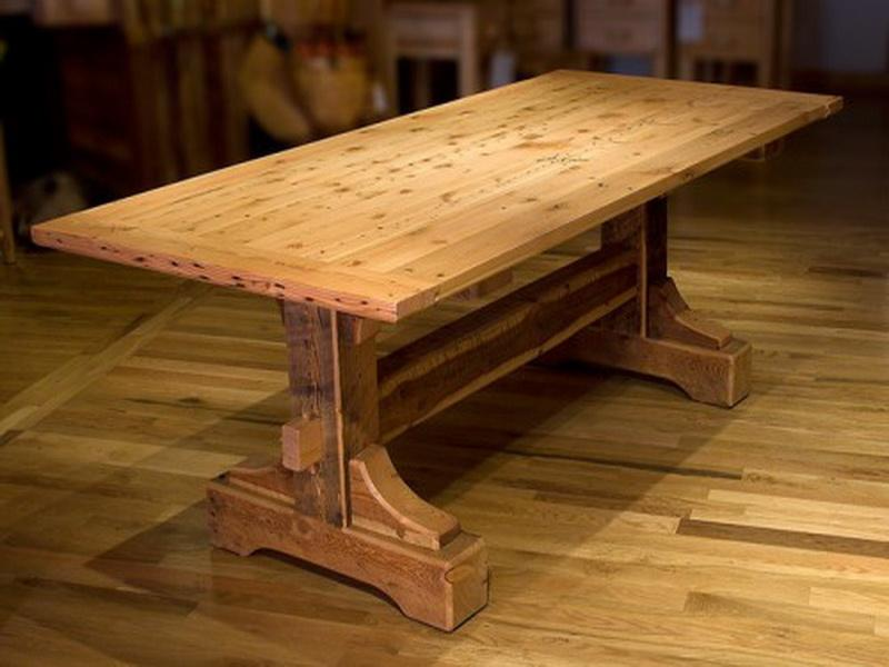 Good Rustic Dining Room Table Plans