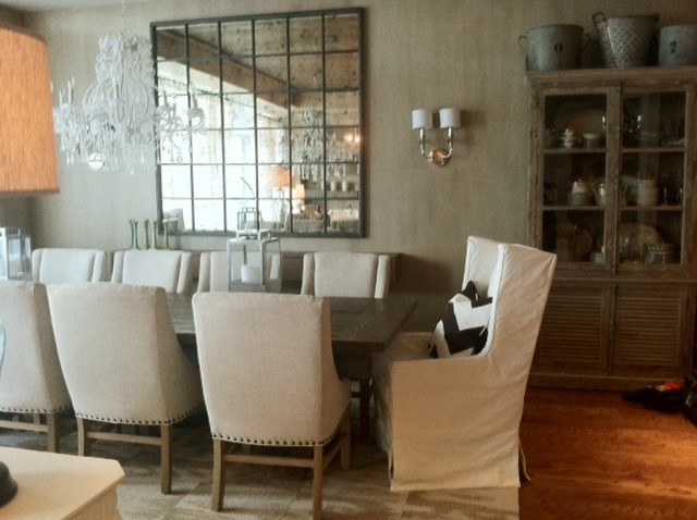 rustic dining rooms photo - 2