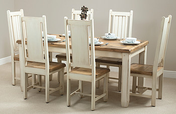 rustic modern dining room photo - 2