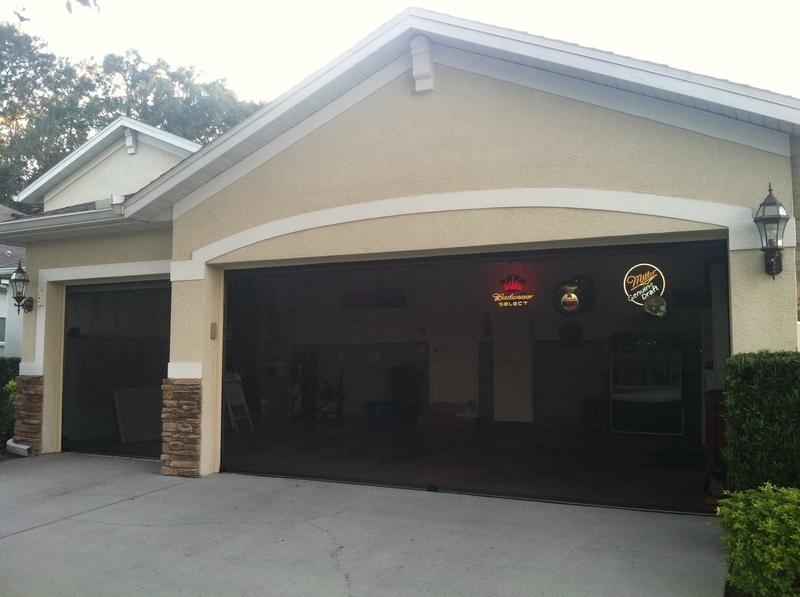 screen door for garage photo - 1