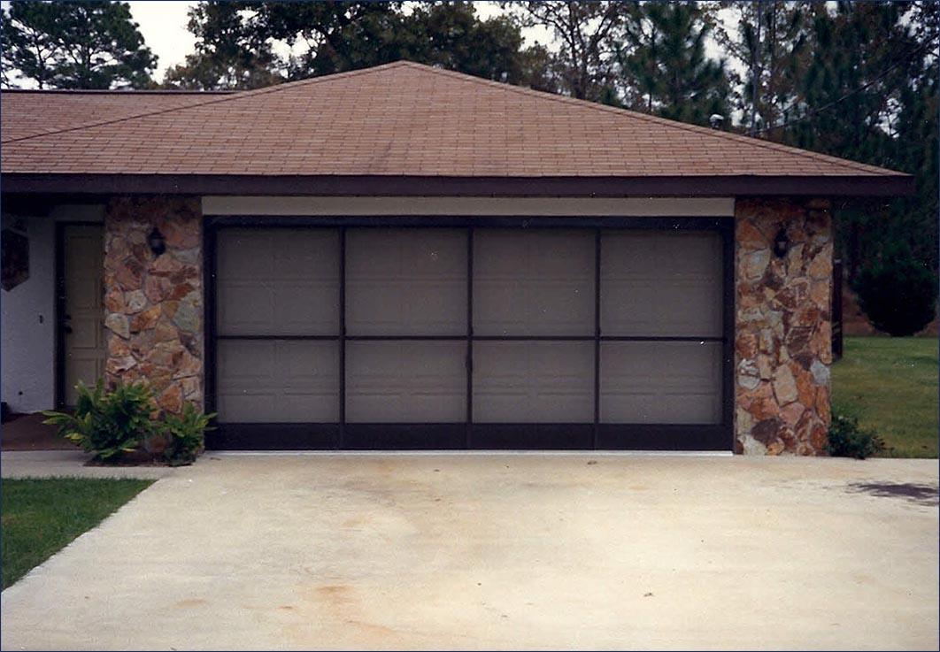 screen door for garage photo - 2