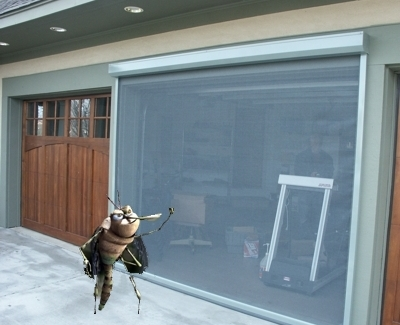 garage screen doorsScreen door garage  large and beautiful photos Photo to select