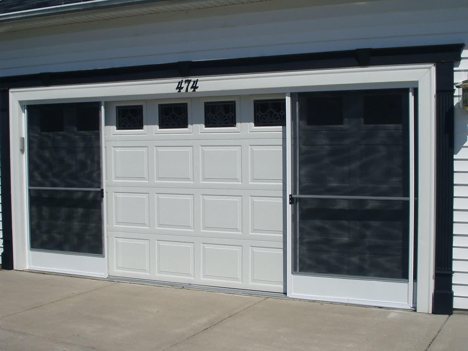 screen doors for garages photo - 2