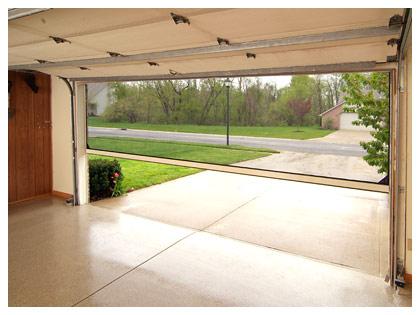 screen for garage door photo - 2