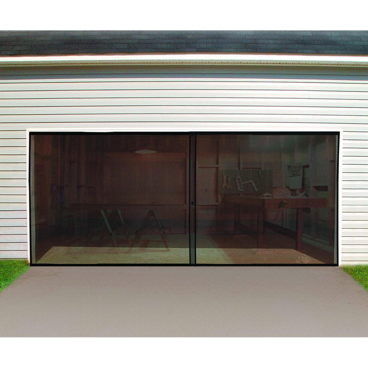 screen for garage door opening photo - 2