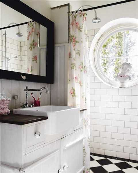 Shabby chic bathroom. Shabby chic bathroom   large and beautiful photos  Photo to select