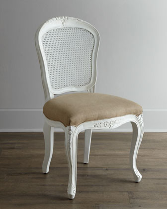 shabby chic dining chair photo - 2