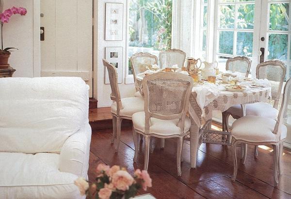 shabby chic dining room ideas photo - 1
