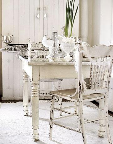 shabby chic dining room ideas photo - 2