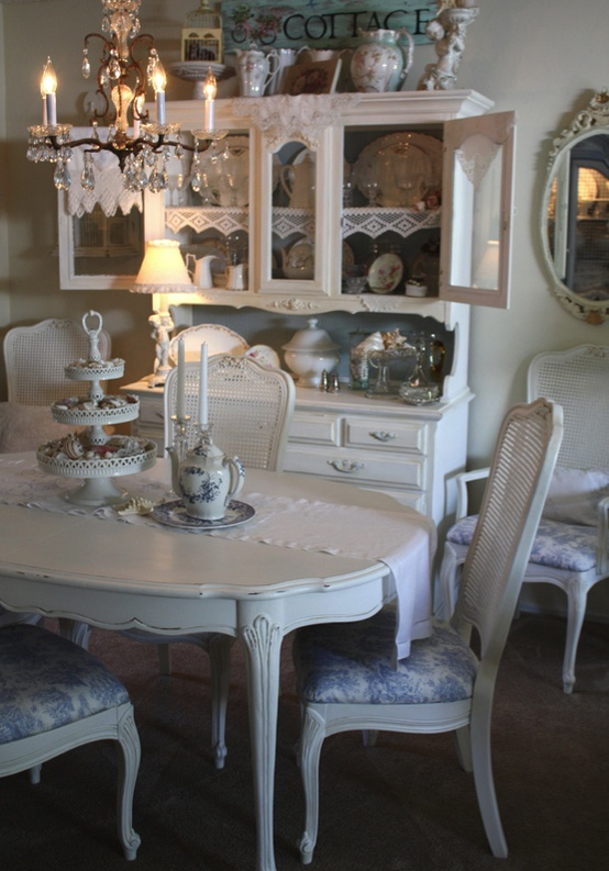 shabby chic white dining room chairs. shabby chic dining room sets