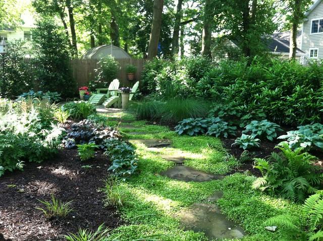 shady backyard ideas photo - 2