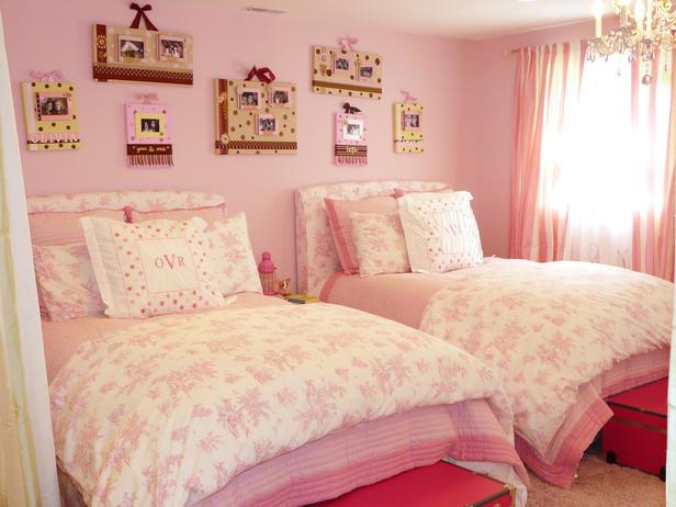 shared girls bedroom ideas photo - 2