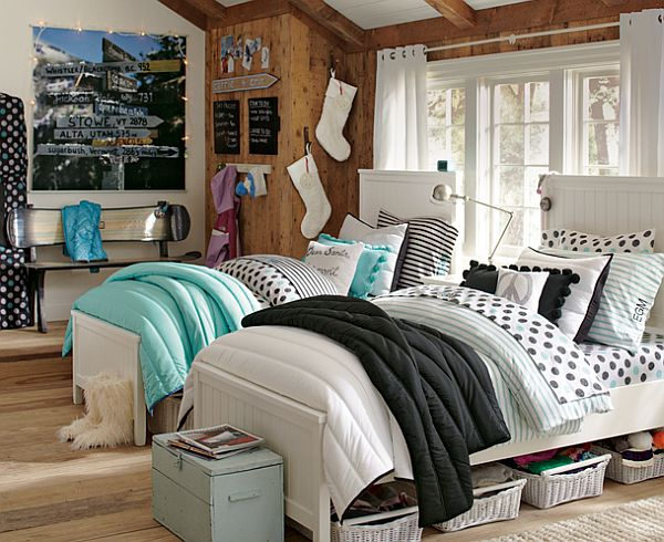 Shared teenage bedroom ideas - large and beautiful photos. Photo to ...