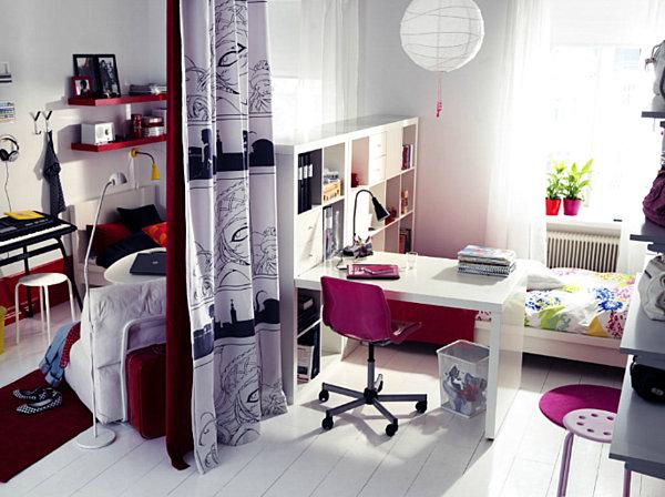 shared teenage bedroom ideas photo - 2