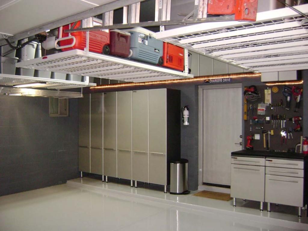 shelves for garage ideas photo - 2