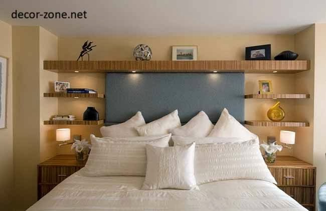 Shelving ideas for bedroom walls - large and beautiful photos ...